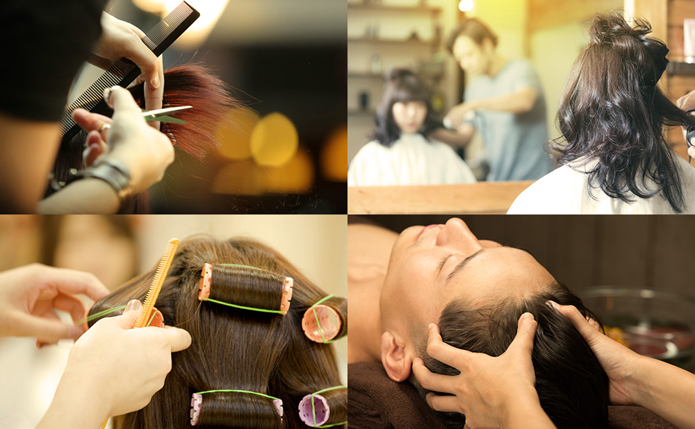 自然素材を用いたカラーや、ダメージの少ないパーマなど、髪の健康を維持しながら多種多様なスタイルにお応えします。 目的にあわせたトリートメントやヘアパック、さらにヘッドスパなどのリラクゼーションメニューもご用意しております。